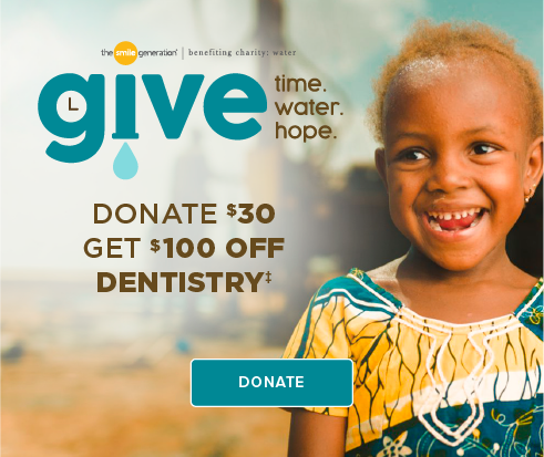 Donate $30, Get $100 Off Dentistry - Dentists of South Bay